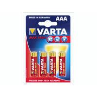 4 Stk Batteri Max Tech Varta 4703 Micro LR 3 AAA 4stk/pak