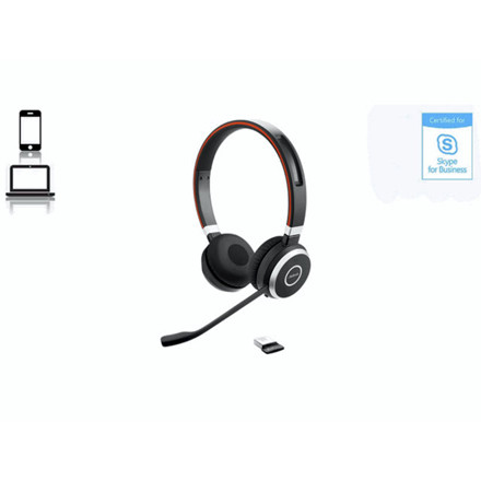 Headset Jabra Evolve 65 MS stereo headset