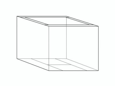 5 stk Containerunderdel 18 2 Bølger 1180x780x700/100mm 7mm