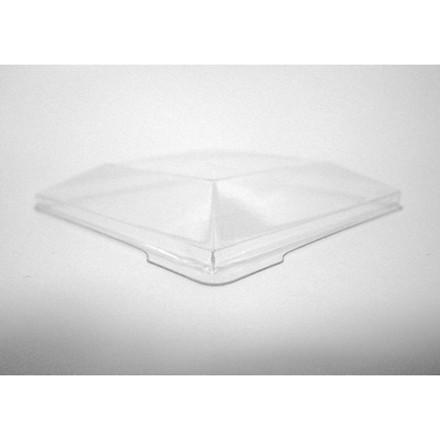 100 Stk Låg til bowl firkantet 1278185 130x130x35mm 100stk/k
