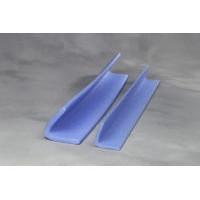 480 Meter PE-profiler L 50x50 blå 240x2m = 480m/kar 6mm gods