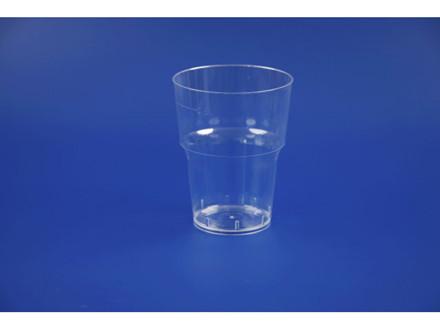 25 Stk 20 poser Plastikglas 0,51cl nr. 1500 25stk/ps