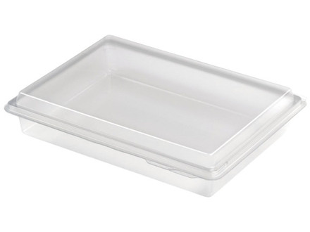 200 Stk Plastbakke Nibblebox 214x162x40mm 800ml 200stk/ka