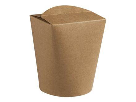 500 Stk Wok-boks brun 500ml 500st/ka