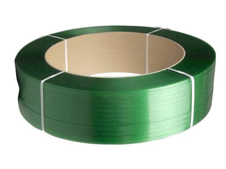 1750 Meter Strapbånd PET grøn 15,5x0,7mm ø406mm 1750m 439kg