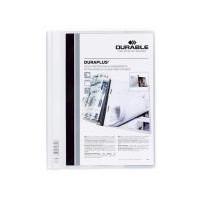 25 stk Tilbudsmapper A4 maxi hvid db. forside 311x245mm
