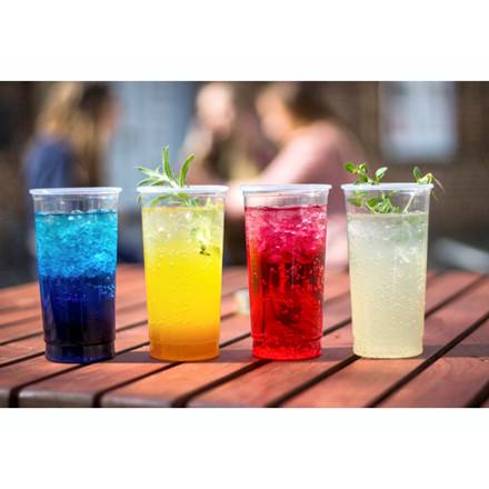 Plastikglas cocktail blød 35cl 30stk/ps