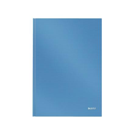 Notesbog Leitz Solid A4 lyseblå hard linieret 80ark