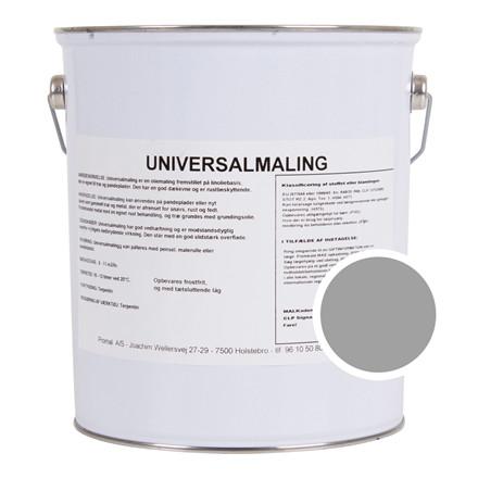 Maling Universal Træ & Metal Aluminium 5 ltr