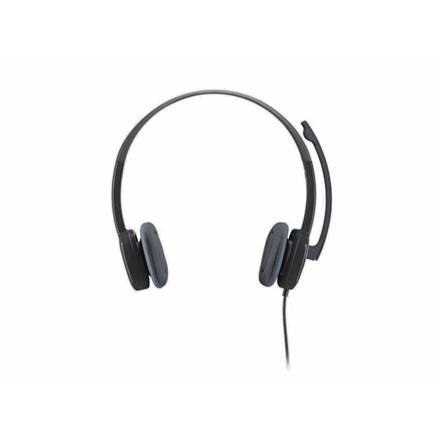 Headset Logitech H151 sort stereo