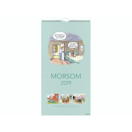 Familiekalender Morsom 22x43cm 19 0661 40
