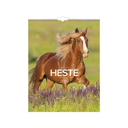 Vægkalender Heste 29,5x39cm 19 0663 10