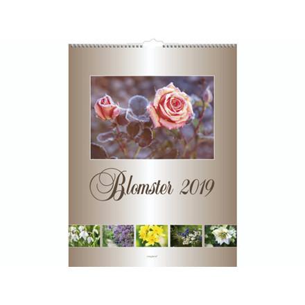 Vægkalender Blomster 29,5x39cm 19 0663 30