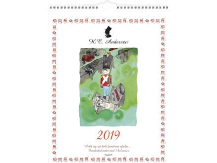 Familiekalender H.C.Andersen 5 kolonner 29,5x39cm 19 0663 70