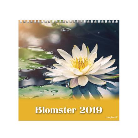 Vægkalender Blomster 16x16cm 19 0664 20