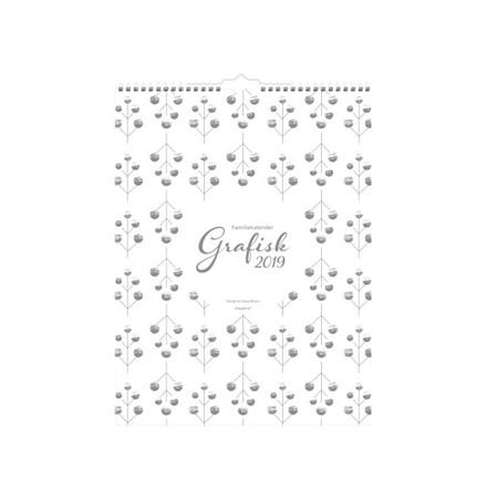 Familiekalender Grafisk 29,5x39cm 19 0664 60