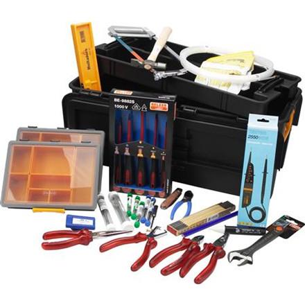 Værktøjssortiment toolboks 2000