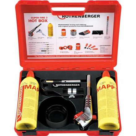 Gasbrændersæt super fire3 mapp