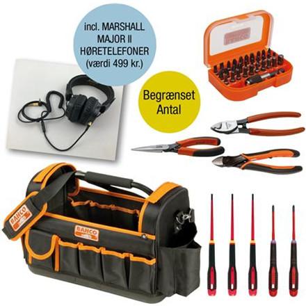 Værktøjssæt komplet med major ii