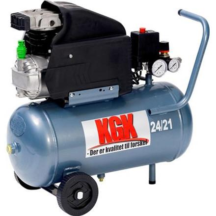Kompressor KGK 10 bar 2,0 hk 24 ltr tank