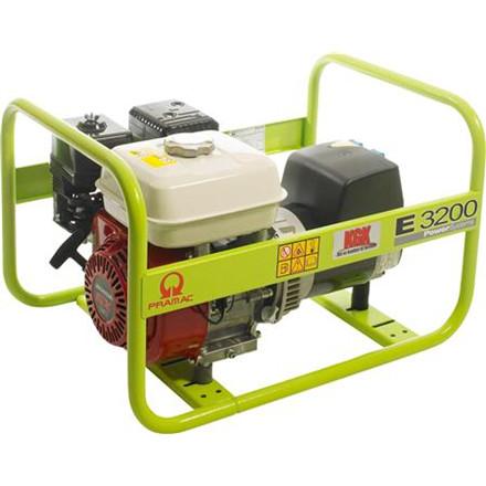 Generator KGK  E3200shhpi m/benzin motor 230v