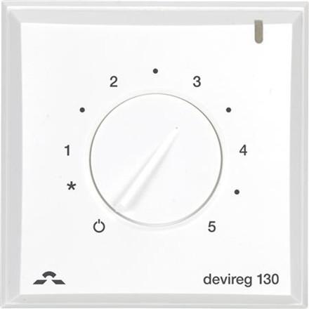 Termostat Devi devireg 132 m/gulvf + rumf