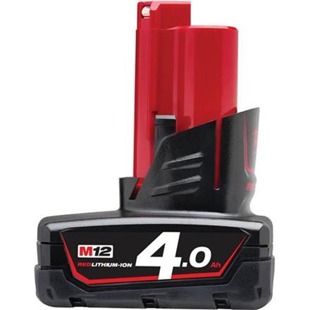 Batteri M12 B4 12V 4,0Ah Red Lithium Ion