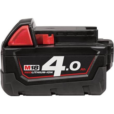 Batteri M18 B4 18V 4,0 Ah Red Lithium Ion