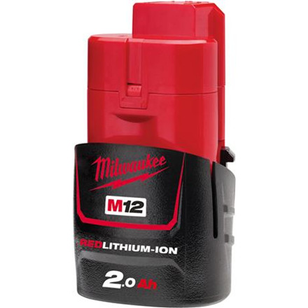 Batteri M12 B2 12V 2,0Ah Red Lithium Ion