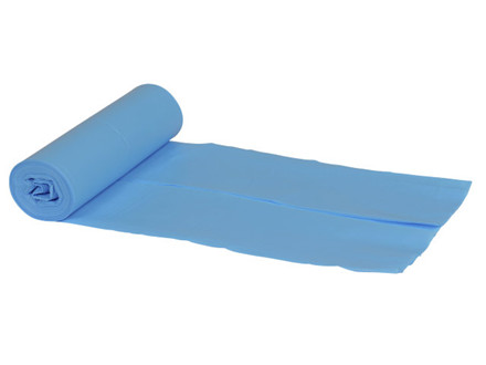 30 ruller Plastiksæk LDPE, blå 550x800mm Luxus 10 stk/rulle