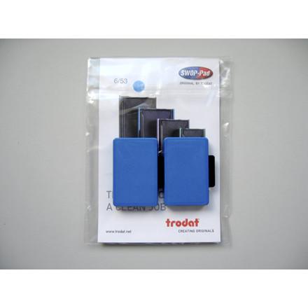 Stempelpude Trodat blå 2-pack 5205 6/55