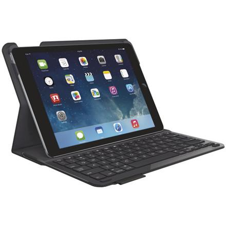 Cover m/tastatur iPad Airtype+ sort (Nordic)