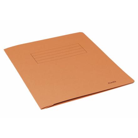 100 stk Arbejdsmappe Bantex orange 318x240mm m/skrivefelt