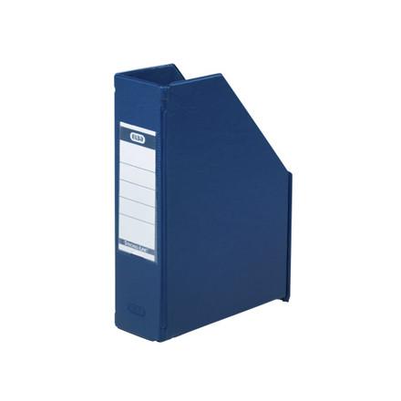 5 stk Tidsskriftskassette ELBA A5 maxi blå ryg:6,5cm