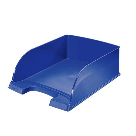 4 stk Brevbakke Leitz Plus Jumbo A4 95mm blå