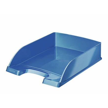 5 stk Brevbakker Leitz Plus Standard A4 højde 60mm WOW blå