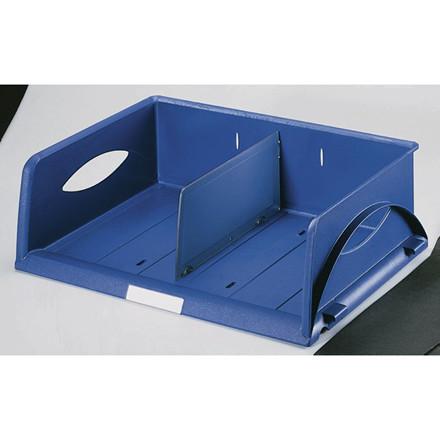 4 stk Brevbakke Leitz Sorty Standard blå