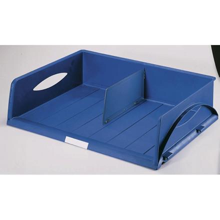 6 stk Brevbakke Leitz Sorty Jumbo blå 47x11x35.5 cm