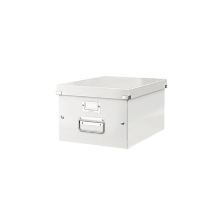 Arkivboks Leitz Click&Store hvid medium 281x200x370mm