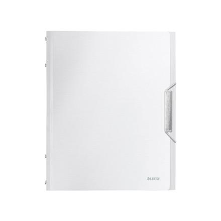 5 stk Sorteringsmappe Leitz Style PP 6-delt hvid