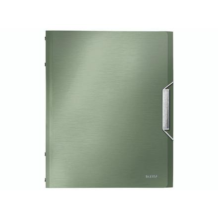 5 stk Sorteringsmappe Leitz Style PP 6-delt grøn