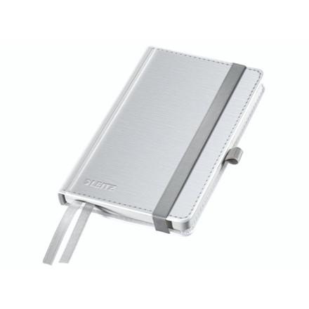 Notesblok Style A6 Hard linieret hvid 80ark