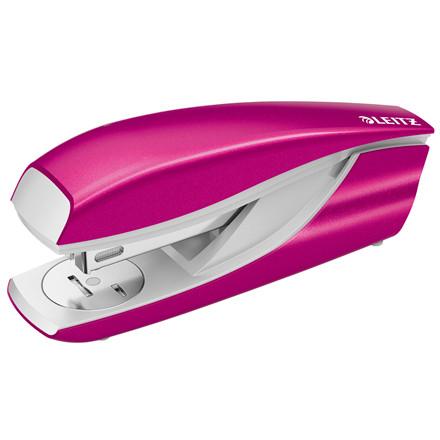 Hæftemaskine Leitz 5502 WOW 30ark pink