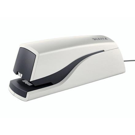Hæftemaskine Leitz 5532 elektrisk 10ark hvid