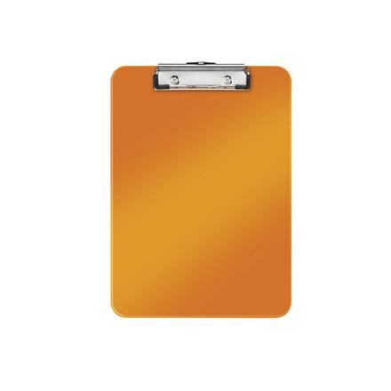 10 stk Clipboard Leitz WOW u/forside A4 orange