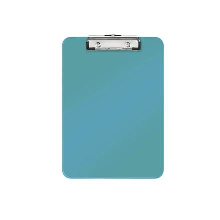 10 stk Clipboard Leitz WOW u/forside A4 isblå