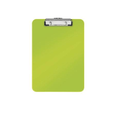 10 stk Clipboard Leitz WOW u/forside A4 grøn