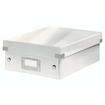 Fiberpapkartotek Click&Store hvid small