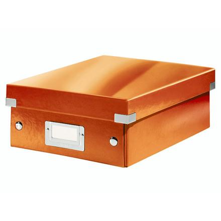 Fiberpapkartotek Click&Store WOW orange small