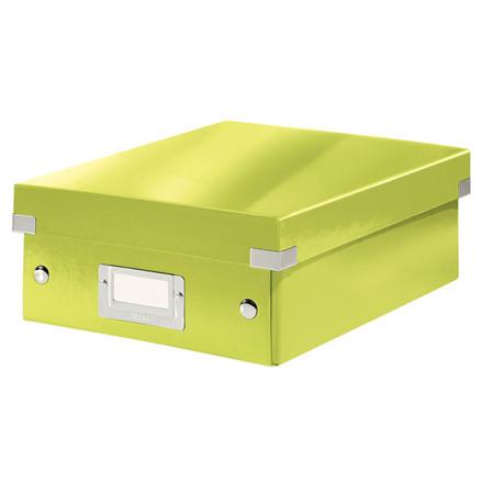 Fiberpapkartotek Click&Store WOW grøn small